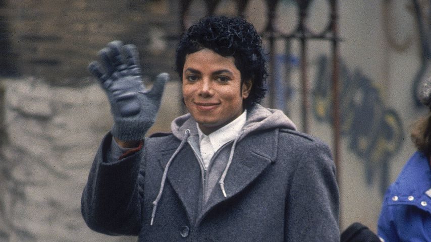 "Michael Jackson bei Dreharbeiten zu dem ""Bad""-Musikvideo"