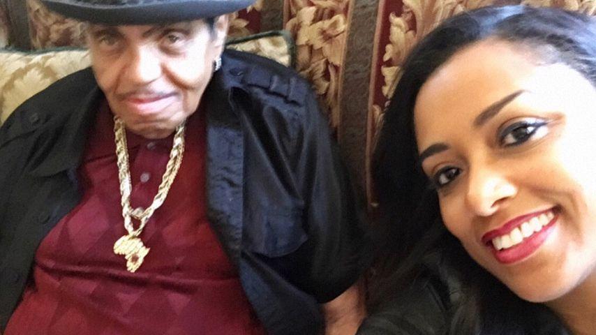 Michael Jacksons Vater Joe und Shana Mangatal