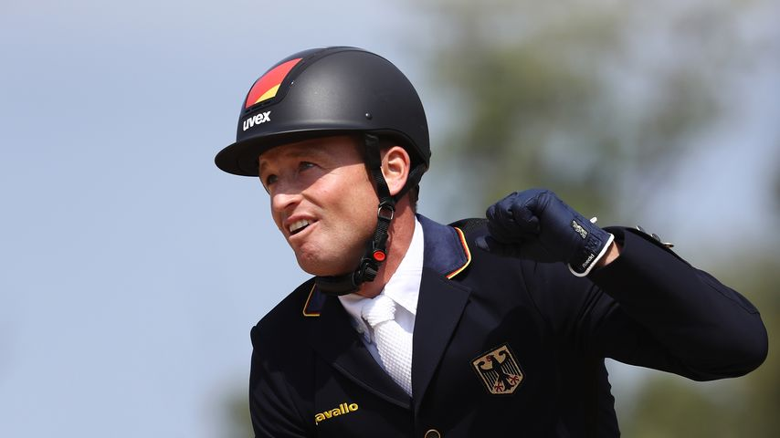Reiter Michael Jung und Pferd Sam in Rio 2016