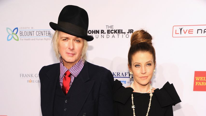 Michael Lockwood und Lisa Marie Presley