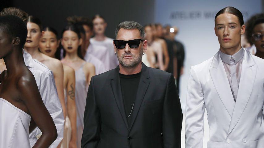 Michael Michalsky bei einer Modenschau