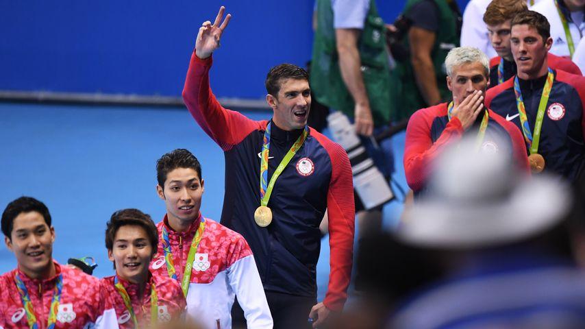 Michael Phelps' Olympia-Erfolg: So gratulieren die Stars!
