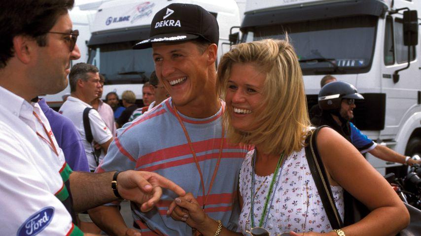 Michael und Corinna Schumacher, Rennfahrer und seine Ehefrau