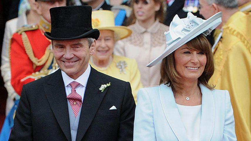Michael und Carole Middleton im April 2011
