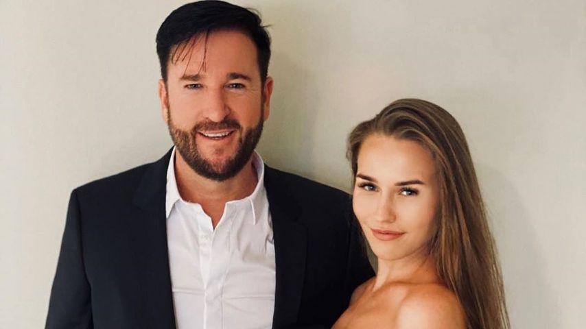 Michael Wendler und Laura an ihrem Hochzeitstag im Juni 2020