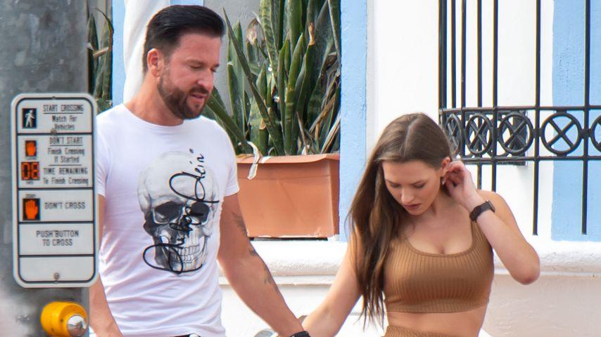Michael Wendler und Laura in Miami