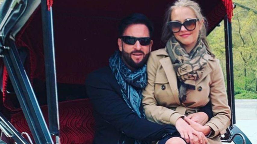 Gegen Krisen-News: Wendler & Laura machen Kutschfahrt