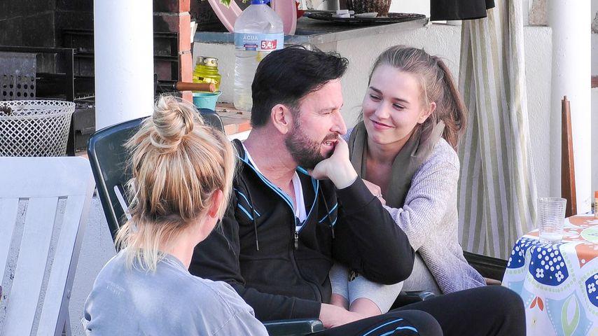 """Michael Wendler und Laura Müller in """"Das Sommerhaus der Stars"""""""