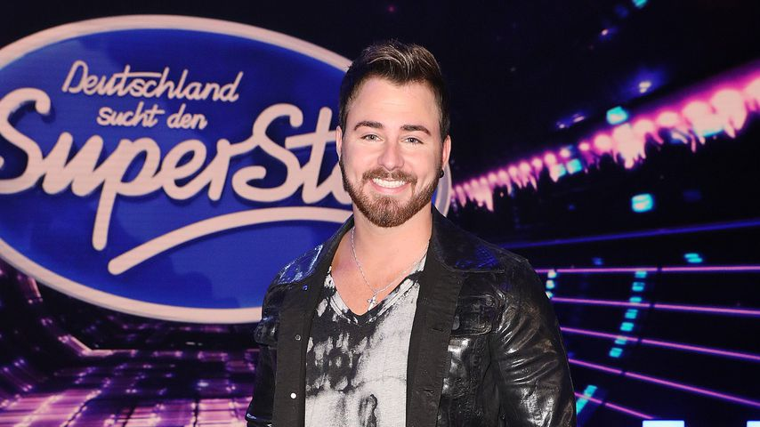 Michel Truog in der TV-Show DSDS in Köln