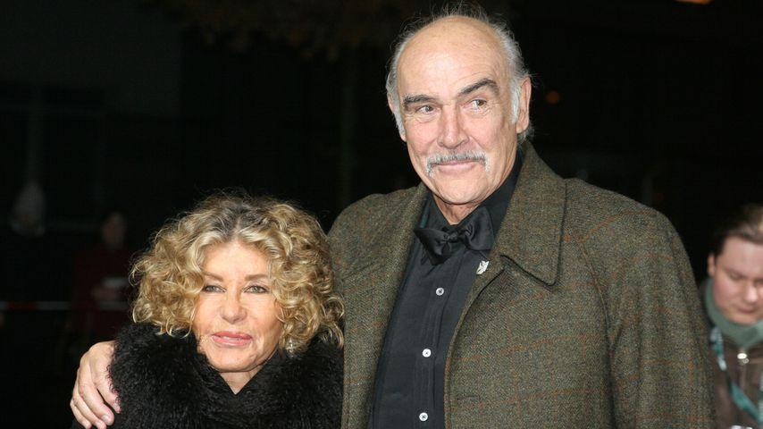 Micheline Roquebrune und Sean Connery bei den European Film Awards 2005