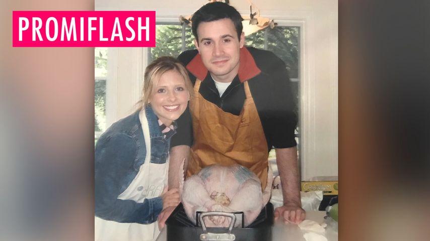 Michelle Gellar feiert Liebesglück mit Ehemann Freddie