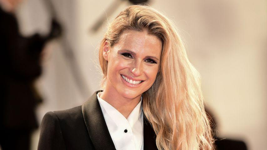 Michelle Hunziker im September 2019