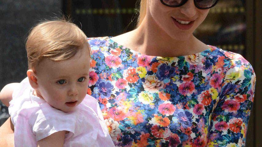 Zauberhaft süß: Michelle Hunziker mit ihrer Sole