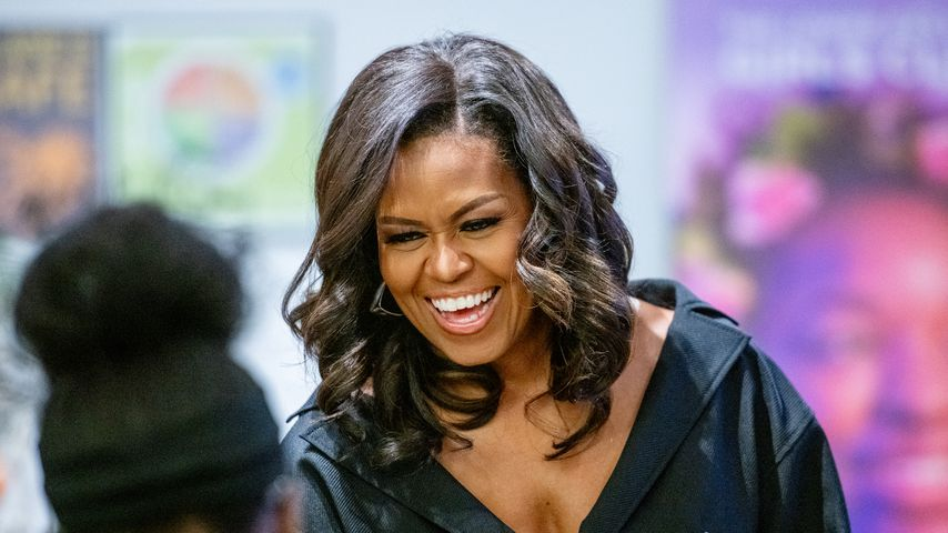 Michelle Obama in New York, 2018