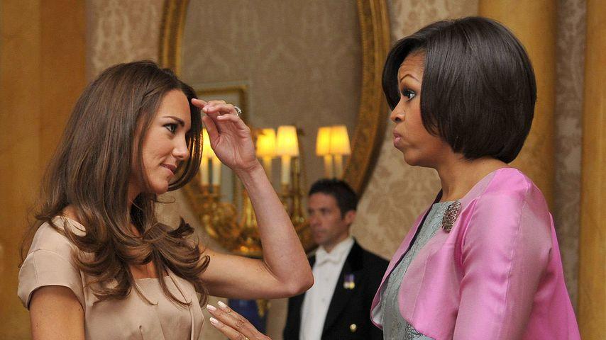 Michelle Obama und Herzogin Kate, Buckingham Palace 2011