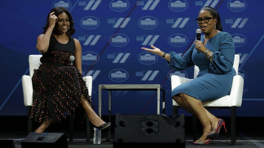 Michelle Obama und Oprah Winfrey