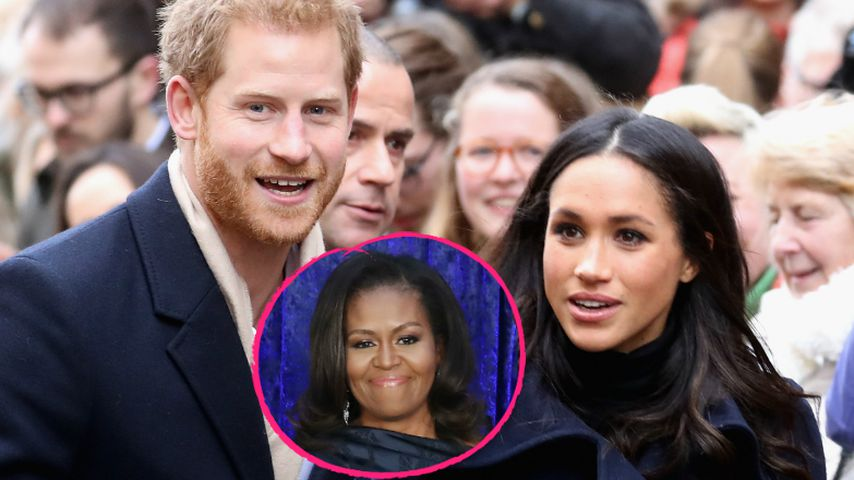 Prinz Harry & Meghan: Hat Michelle Obama sie verkuppelt?