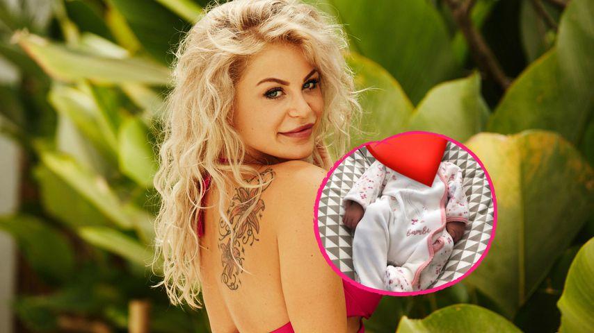 Nach heimlicher Geburt: Bachelor-Michelle zeigt ihr Baby!