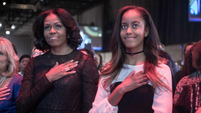 Süß! Michelle Obama gratuliert Tochter Malia zum Geburtstag