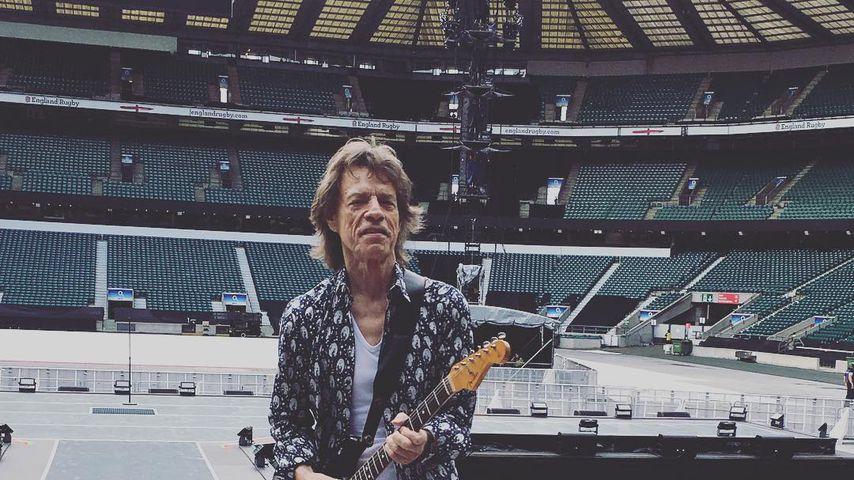 Kurz nach Herz-OP: Mick Jagger zeigt seine wilden Tanz-Moves