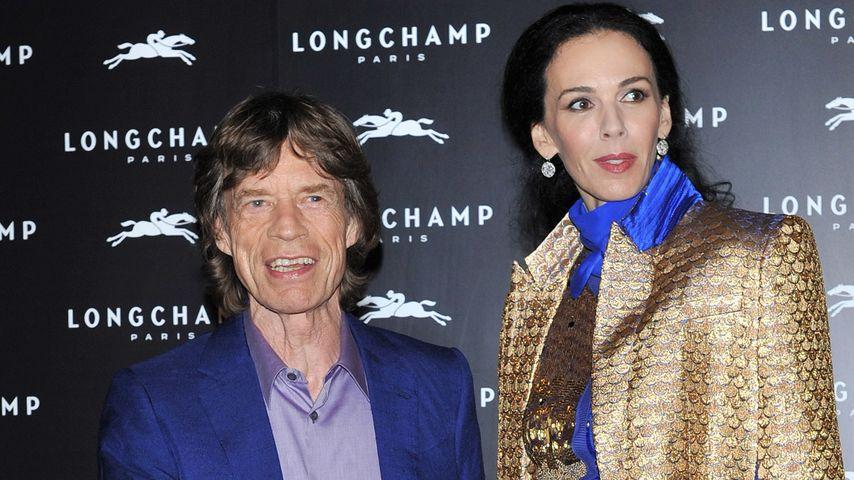 """Jerry Hall: """"Die Familie steht Mick Jagger bei"""""""