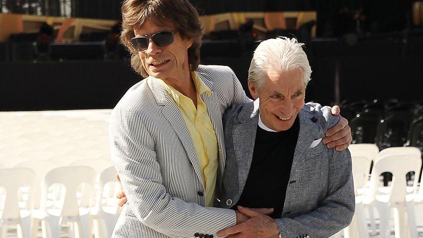 Charlies Tod: Rolling-Stones-Kollege Mick Jagger trauert