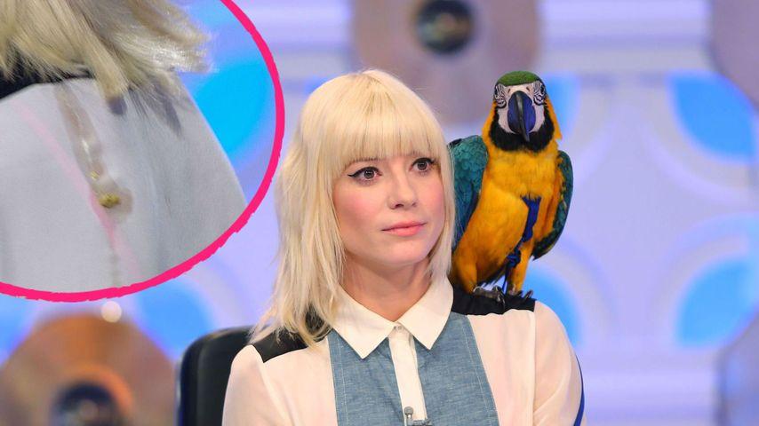 Echt kacke! Papagei beschmutzt Ehre von DSDS-Mieze