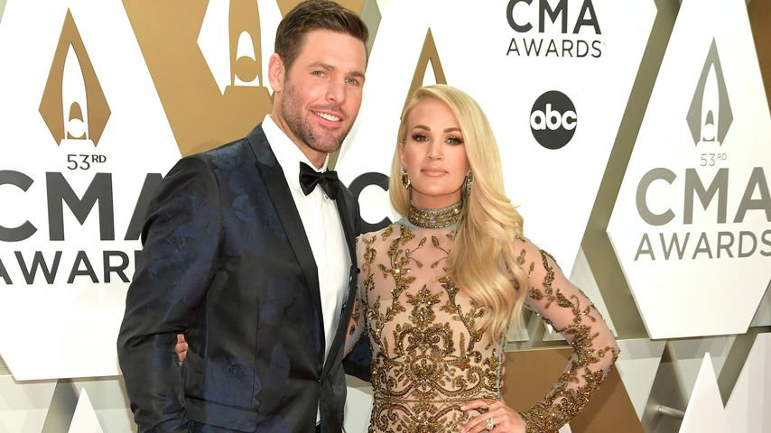 Mike Fisher und Carrie Underwood, 2019