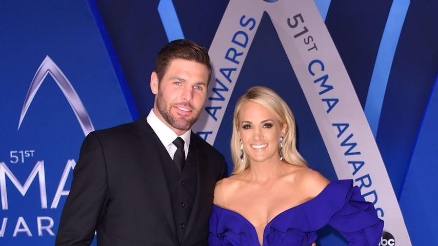 Mike Fisher und Carrie Underwood bei den CMA Awards 2017