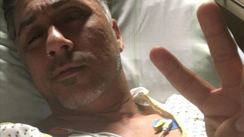 Mike Leon Grosch im Krankenhaus