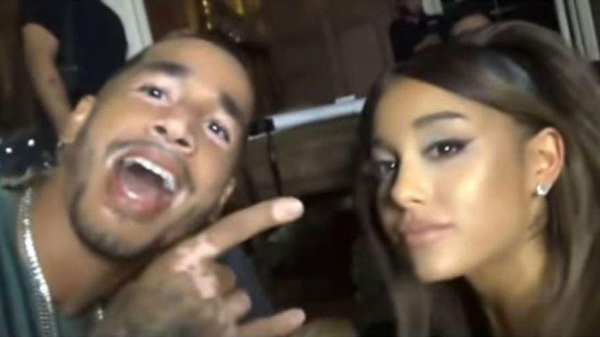 Mikey Foster und Ariana Grande