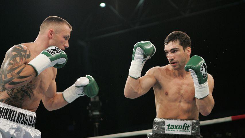 Mikkel Kessler und Markus Beyer beim Weltmeisterkampf 2006