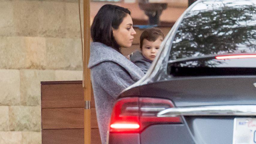 Nach Dimitris Geburt: Depressions-Rückfall bei Mila Kunis?