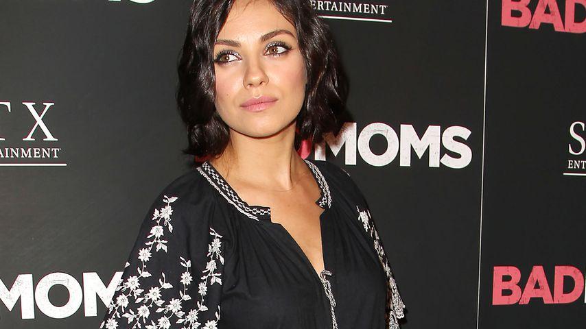 Mila Kunis während ihrer zweiten Schwangerschaft