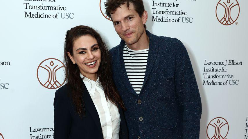 Superselten! Mila Kunis und Ashton Kutcher auf Red Carpet