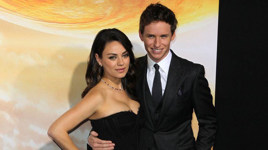 Mila Kunis und Eddie Redmayne