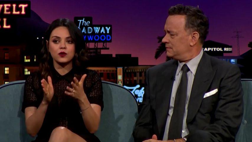 Mila Kunis und Tom Hanks
