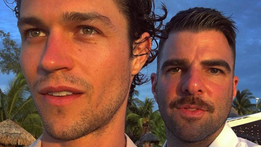 Miles McMillan und Zachary Quinto in Mexiko