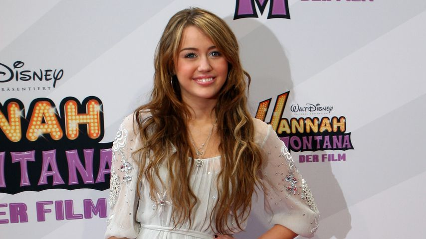 "Miley Cyrus bei der Premiere von ""Hannah Montana: The Movie"" in München"