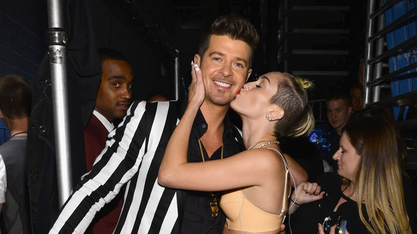 Miley Cyrus und Robin Thicke bei den MTV Video Music Awards  2013