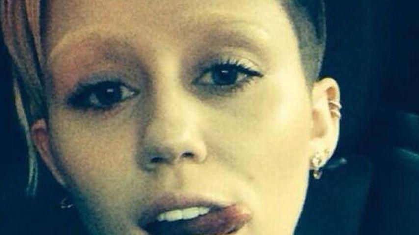 So gefallen euch Miley Cyrus' blonde Augenbrauen