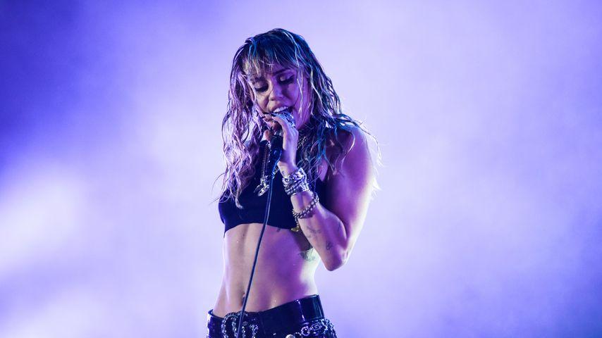 Miley Cyrus bei einem Auftritt im August 2019