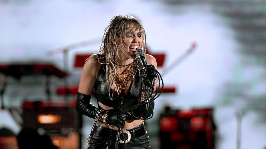 Miley Cyrus beim iHeartRadio-Festival 2019