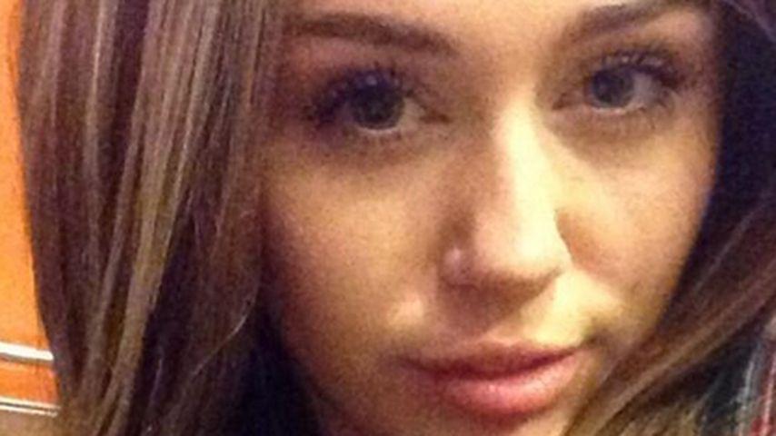 Huch! Miley Cyrus hat wieder lange Haare