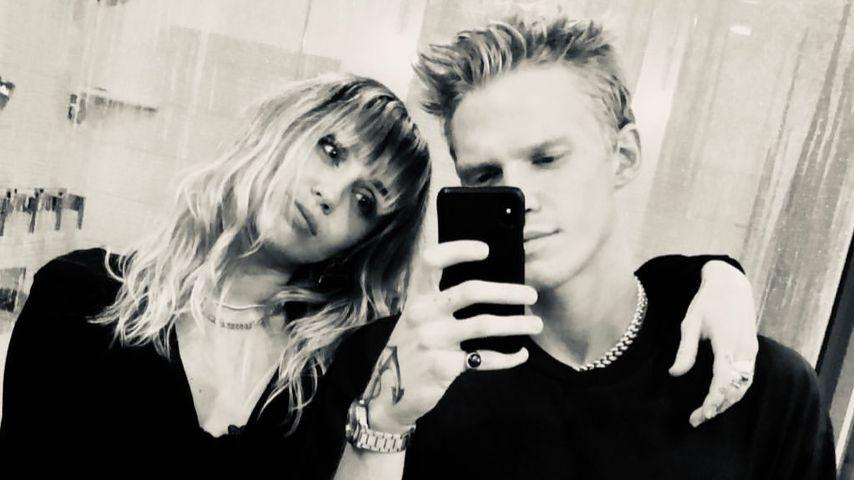 Miley Cyrus und Cody Simpson im Oktober 2019
