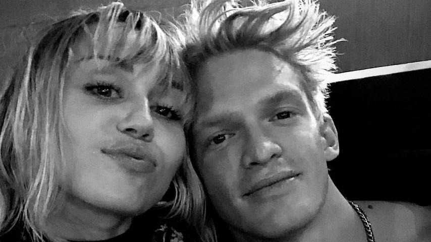 Miley Cyrus und Cody Simpson im November 2019
