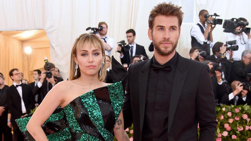Miley Cyrus und Liam Hemsworth im Mai 2019