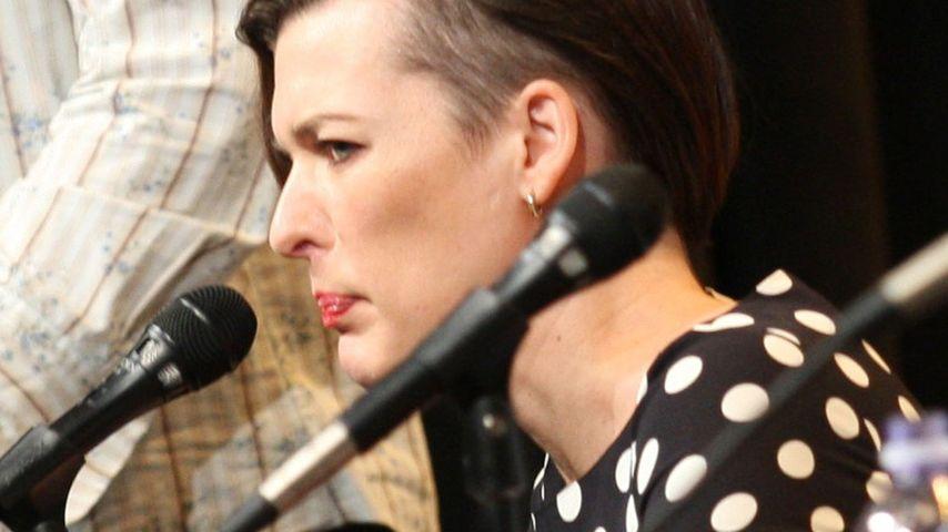 Milla Jovovich ist plötzlich seitlich kahl