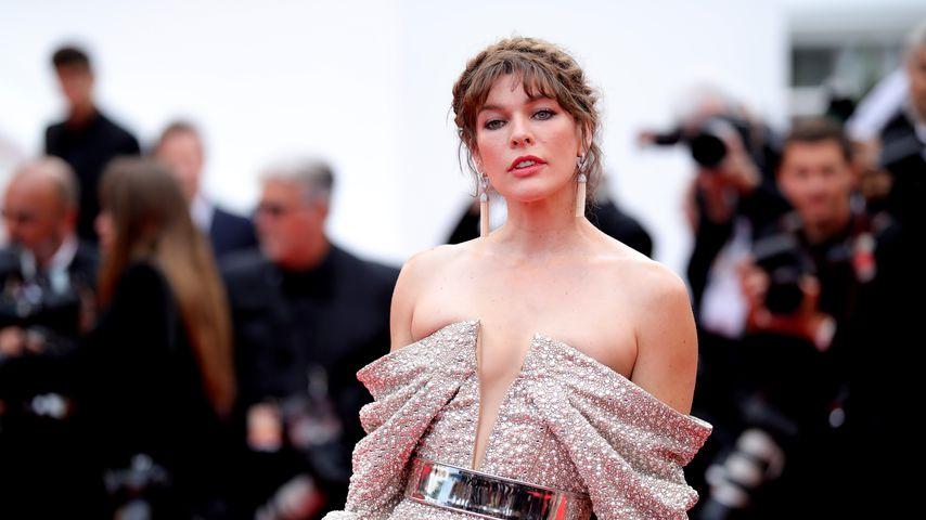 Schauspielerin Milla Jovovich beim Filmfestival in Cannes, 2019