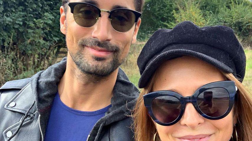 Hugo Taylor und Millie Mackintosh im September 2019